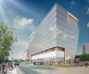 Rendering of the HDR headquarters